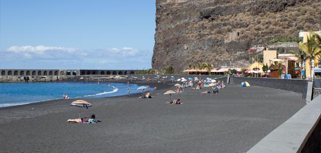 Playa de Puerto de Tazacorte, La Palma