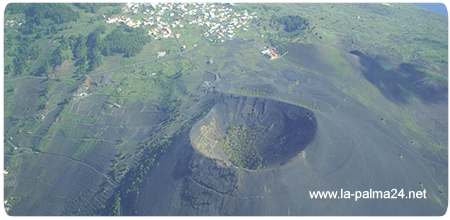 Volcan de Teneguia, Isla de La Palma