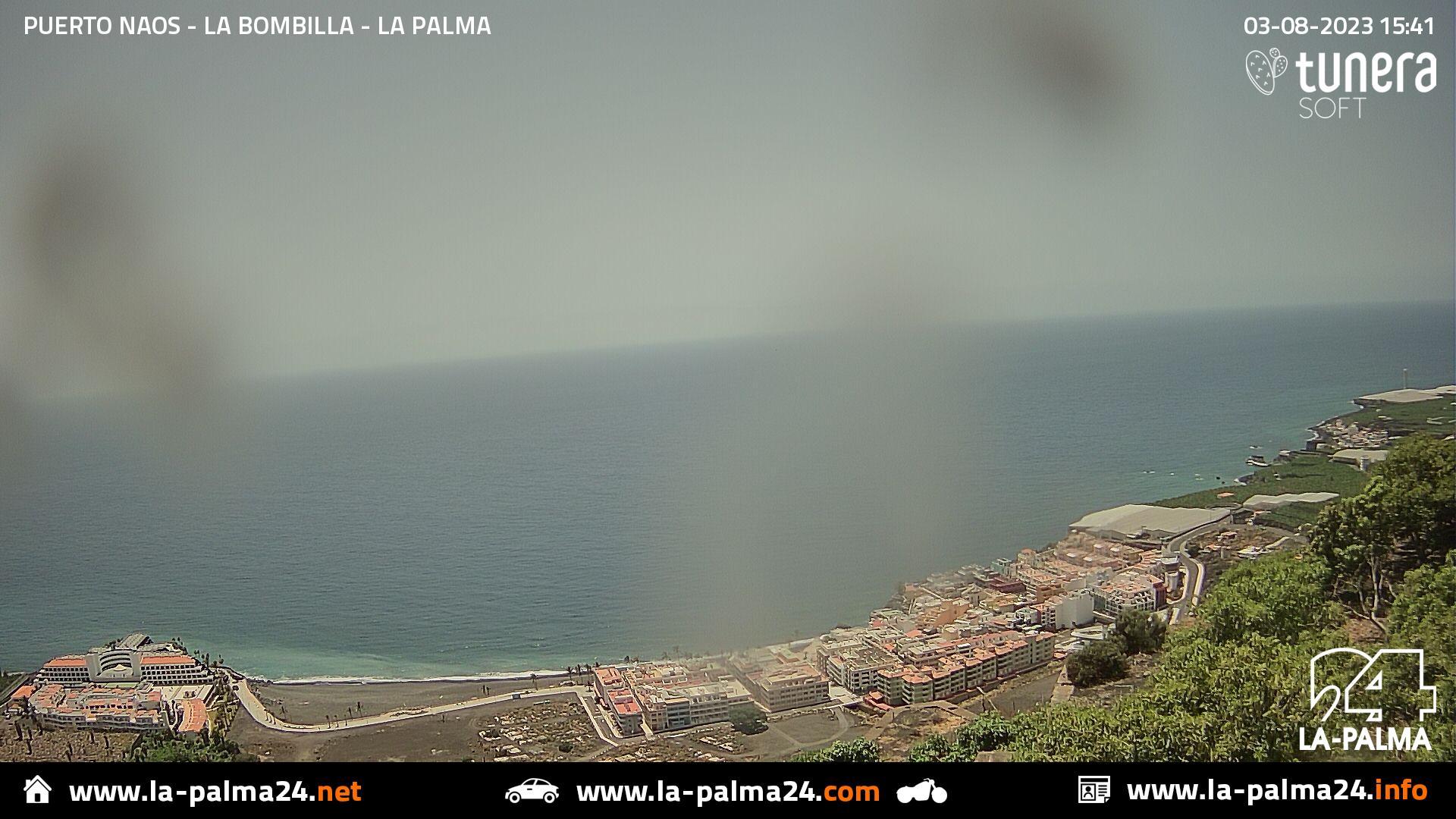 Webcam de Puerto Naos en vivo